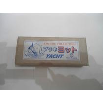Vintage Velero De Lamina Y Vela De Plastico Yone Japon