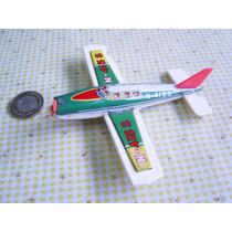 Avion Retro De Hojalata Y Plastico De Los 70