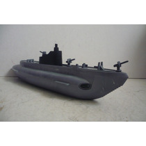 Submarino Militar Lanza Misiles De Plastico - Juguete Escala