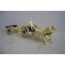 Carreta Del Oeste - Copia Marx Plastimarx - Juguete Antiguo