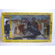 El Zorro Y Su Caballo Copia Plastimarx Marx Toys En Caja