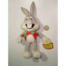 Peluche Muñeco Bugs Bunny Y Sus Amigos Mc Donalds Bugs
