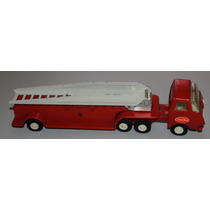 Tonka Vintage Camion De Bomberos Con Escalera Hm4
