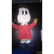 Muñeca Antigua De Trapo Pequeña Lulu