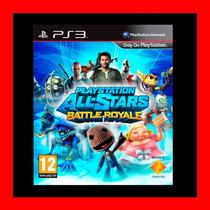 Playstation All Stars Battle Royale + Regalo Ps3 Oferta !!!
