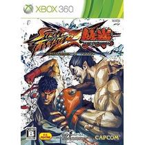 Street Fighter Tekken Xbox360 Japonesa