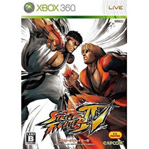 Street Fighter 4 Xbox360 Japonesa