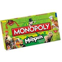 Monopoly The Muppets, Edición De Colección,empaque Original