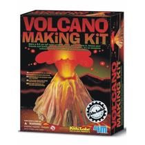 4m Volcano Volcan De Bicarbonato Kit Ciencia Didactico