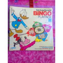 Disney Juego De Mesa De Bingo Del Ano De 1969
