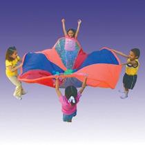 Paracaidas Con Tubular 3 Mts Kids Colors