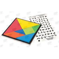 Tangram Juego Geométrico Crea Formas 8 Piezas 5+ Diako