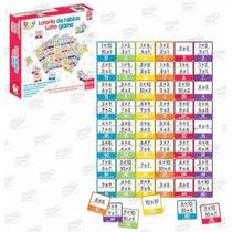 Lotería Tablas Multiplicar Juego De Mesa 60 Piezas 6+ Biyu