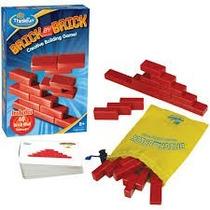 Juego De Mesa Lógica Destreza Brick By Brick Thinkfun 5901