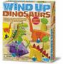 4m Kit Armar 4 Dinosaurios De Cuerda Didactico Muy Padre !!!