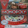 Juego Mesa Monopoly Cars Hasbro, 5 Años En Adelante, Juguete