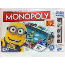 Juego De Mesa Monopoly Mi Villano Favorito Minion Juguete