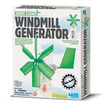 Generador De Energía Ecológico Molino De Viento 8+ 4m