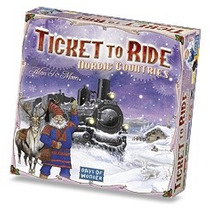 Juego De Mesa Ticket To Ride Nordic