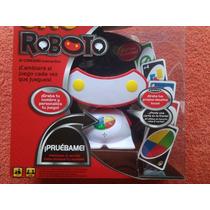 Uno Roboto Mattel Juego De Mesa