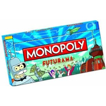 Edición De Futurama Monopoly Collector