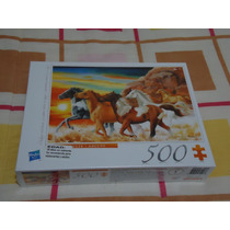Rompecabezas D Caballos Hasbro Nuevo Etiquetado 500 Piezas