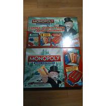 Juego De Mesa Monopoly Banco Electrónico Marca Hasbro