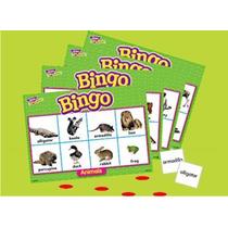 Bingo Lotería Didáctica De Animales Marca Trend