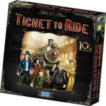 Ticket To Ride 10* Aniversario, Juego De Mesa