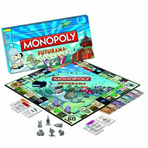 Edición De Futurama Monopoly Coleccionista