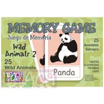 26082 Memoria Inglés 25 Animales 50 Tarjetas 5+ Teach Play