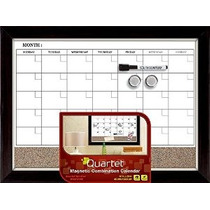 Cuarteto Magnética Calendario Combinación Pizarrón Y Cork 17