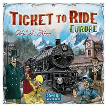 Ticket To Ride Europe. Juego De Mesa,