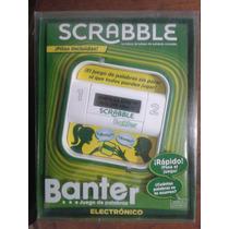 Scrabble Banter Electronico Mattel Para 2 Jugadores De 10+