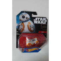 Hot Wheels Star Wars Bb8 Droide R2d2 Darth Luke Stormtrooper