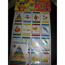 Gcg Juego Didactico Loteria Piramide Alimenticia Omm