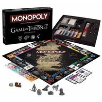 Monopoly: Game Of Thrones Edición De Colección Envio Gratis