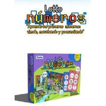 T100 Loteria Los Números Español Inglés 28 Piezas 3+ Totte