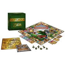 Monopoly Oficial De The Legend Of Zelda Edicion Gamestop