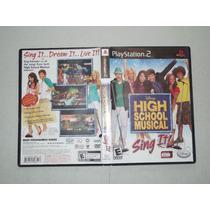 High School Musical Sing It Ps2