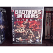 Juego 3 Ps3 Brothers In Arms Hells Highway Mdn
