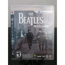 The Beatles Rock Band Ps3 Nuevo De Fabrica Citygame