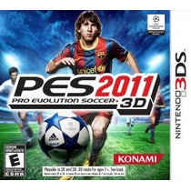 Pro Evolution Soccer 2011 3ds Nuevo Sobre Pedido