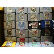 Nintendo 64 Varios Titulos A 180 Pesos Cada Uno