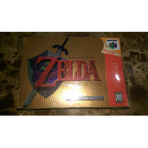 Zelda Ocarina Of Time N64 Collectors Edition Nuevo Sellado