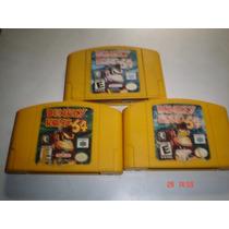 Nintendo 64 Donkey Kong 64 Y Expansion Original Aprovecha