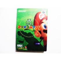 Mario Golf 64 Japones - Nintendo 64 - N64