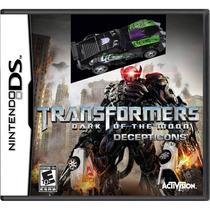 Transformers Dark Of The Moon Nintendo Ds Nuevo Original Mdn