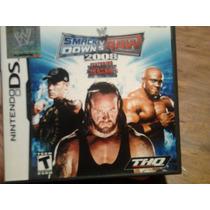 Videojuego Smackdown Vs Raw 2008 Nintendo Ds