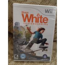 Nintendo Wii Video Juego Shaun White Skateboarding